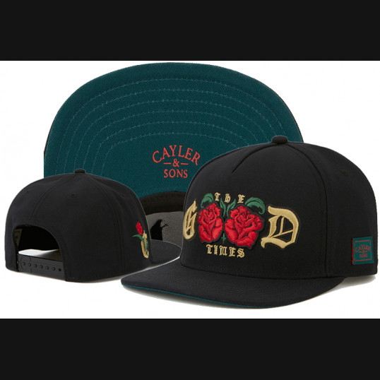 Cayler & Sons Snapback The Good Times