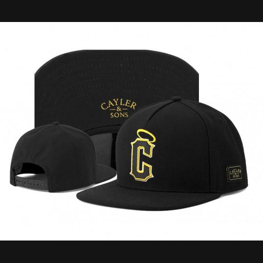 Cayler & Sons Snapback Saint | Black & Yellow