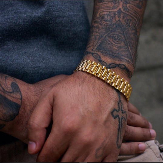 Rolex Bracelet | Gold