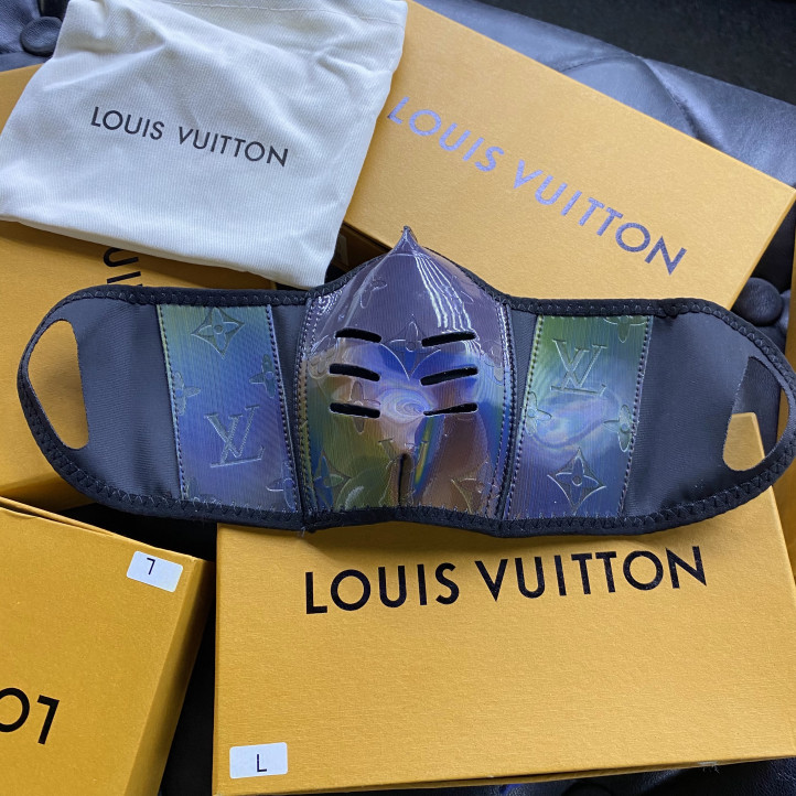 Louis Vuitton Mask | Chameleon Monogram 2