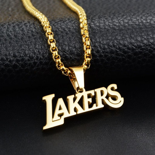 Lakers Chain | Gold | Titanium Steel