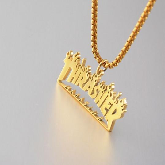Thrasher Chain | Gold| Titanium Steel