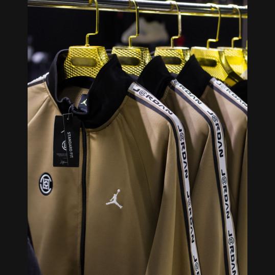 Air Jordan x Clot Tricot Jacket