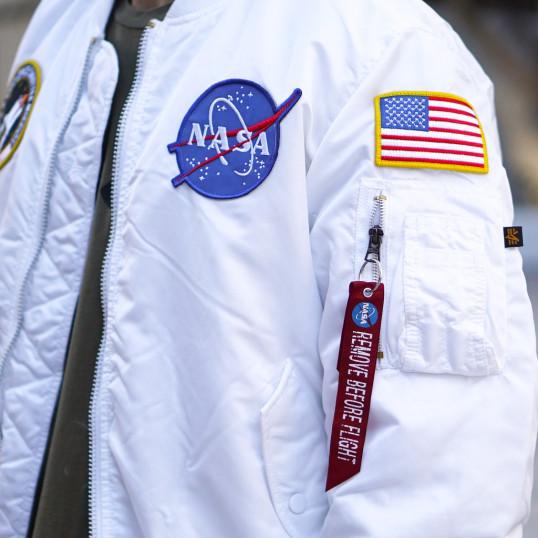 NASA MA-1 Bomber   White