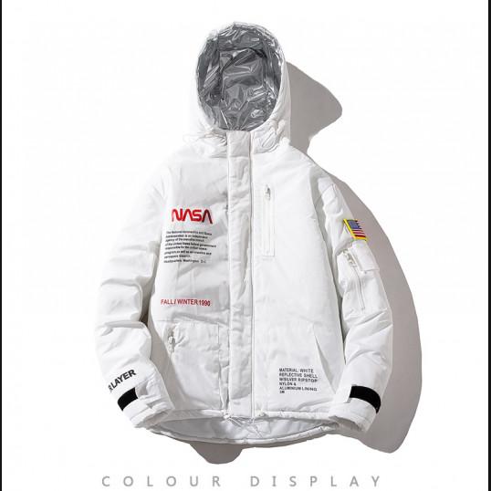 NASA Winter Jacket | White