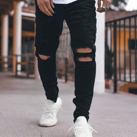 Jeans F 051   Black