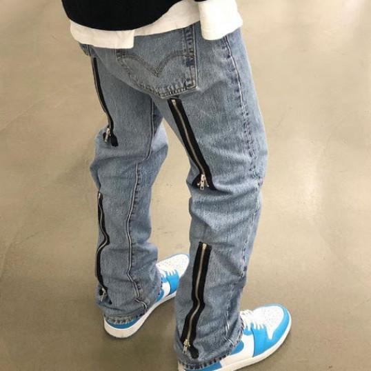 Needles Asap Rocky Zipper Jeans