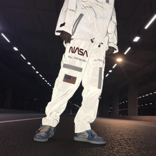 NASA x Heron Preston 3M Reflective Pants