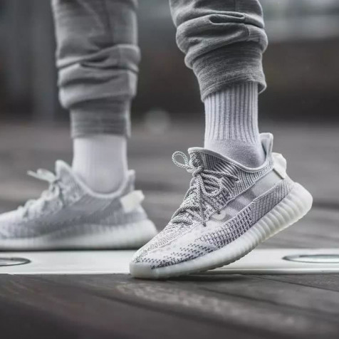 Adidas Yeezy Boost 350 v2 Static Reflective-shoelaces