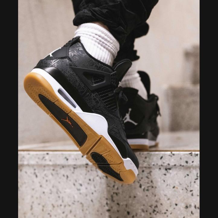 "Air Jordan Retro 4 ""Black Laser"""