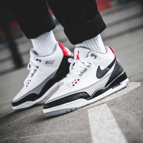 Nike Air Jordan Retro 3 Tinker Fire Red NRG