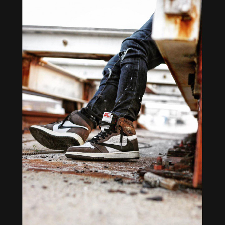 Nike Air Jordan Retro 1 x Travis Scott High 1:1