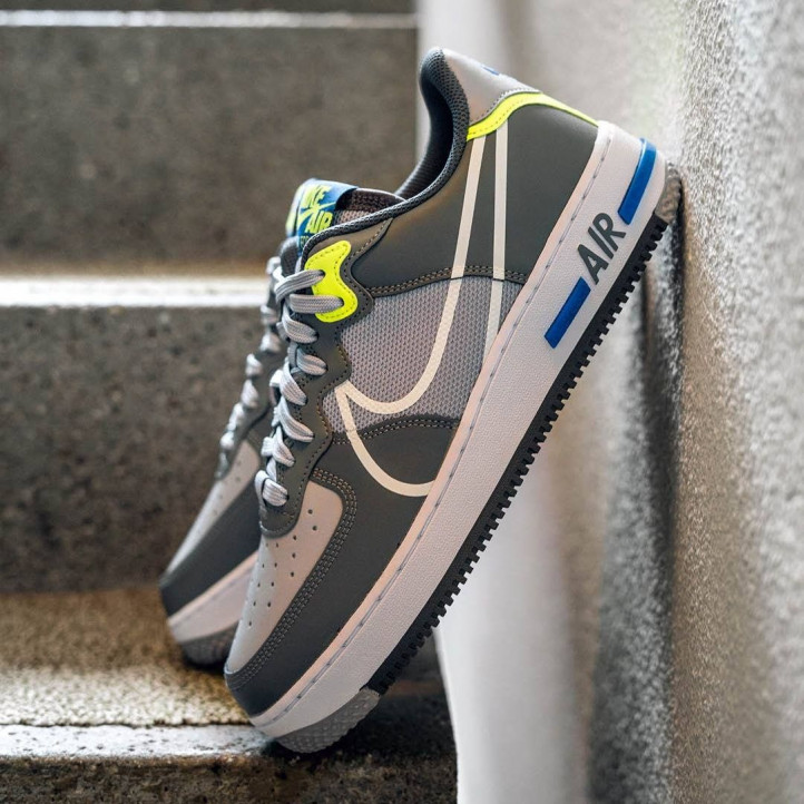 Nike Air Force 1 Low React Grey