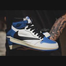 Nike Air Jordan Retro 1 x Travis Scott x Fragment High