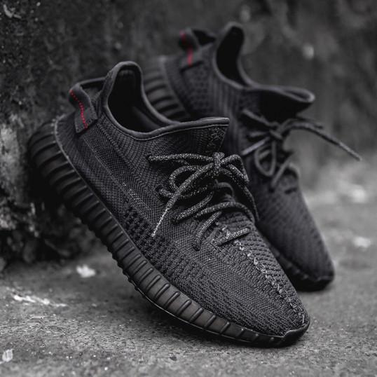 "Adidas Yeezy Boost 350 V2 ""Black Static"" Reflective"