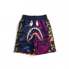 Шорты BAPE Shark x PUBG | Mix Camo