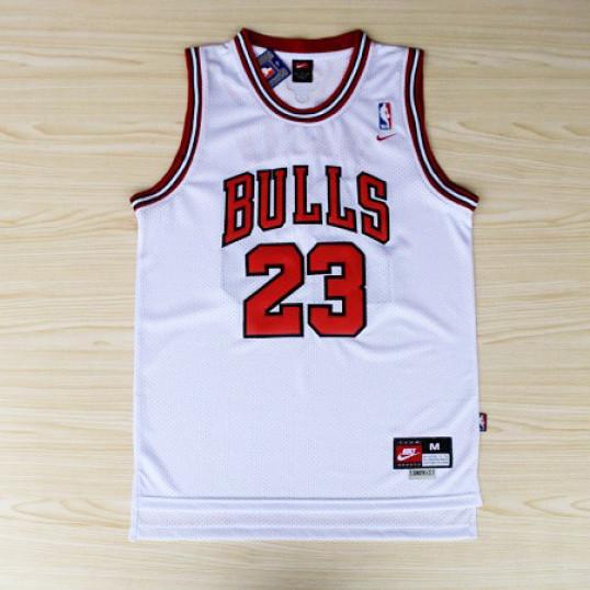 Michael Jordan Jersey   Chicago Bulls  Home White