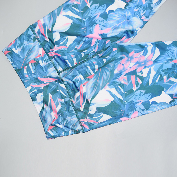Костюм Fitness Floral | Blue